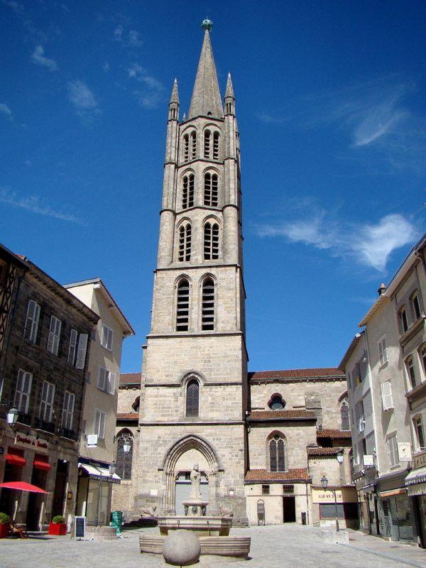 L'église Saint-Michel des Lions.. - Limoges, Limousin