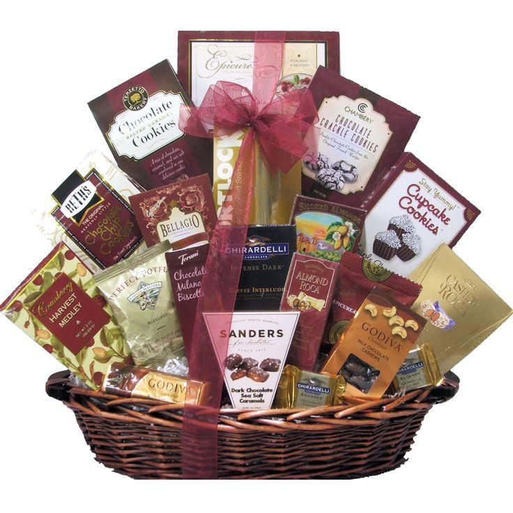 Great Arrivals Gourmet Kosher Gift Basket, Red