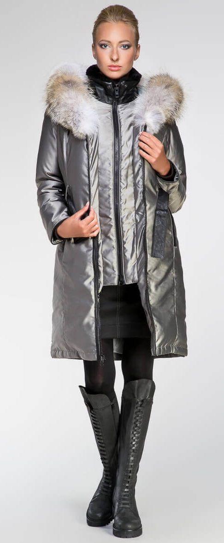 Regina parka Silver | Made in Canada | Arctic Bay ®