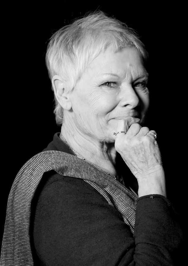 Judi Dench  by Jon Cartwright