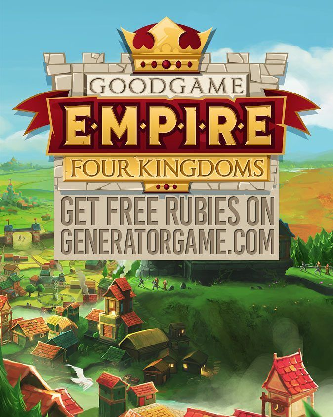 [NEW] EMPIRE: FOUR KINGDOMS HACK ONLINE 2016 WORKING: www.online.generatorgame.com  And Add up to 99999 Rubies for Free instantly to your account: www.online.generatorgame.com  This Method is Safe Secure and Works 100% Guaranteed: www.online.generatorgame.com  No More Lies! Please SHARE this hack method guys: www.online.generatorgame.com  HOW TO USE:  1. Go to >>> www.online.generatorgame.com and choose Empire: Four Kingdoms image (you will be redirect to Empire: Four Kingdoms Generator…