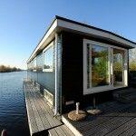Woonboot op een privé eilandje in Loosdrecht voor 8 personen. Inclusief sloep!