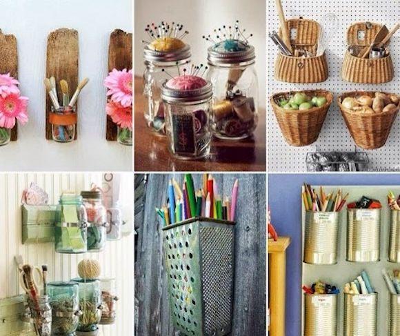 Ideas De Reciclaje Para Decorar La Casa Recycled Crafts Diy Crafts Upcycled Crafts