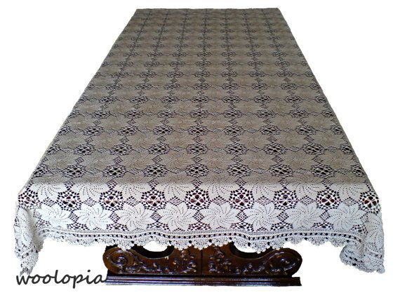 Hey, I found this really awesome Etsy listing at https://www.etsy.com/listing/155197808/crochet-tablecloth-of-fine-thread-in