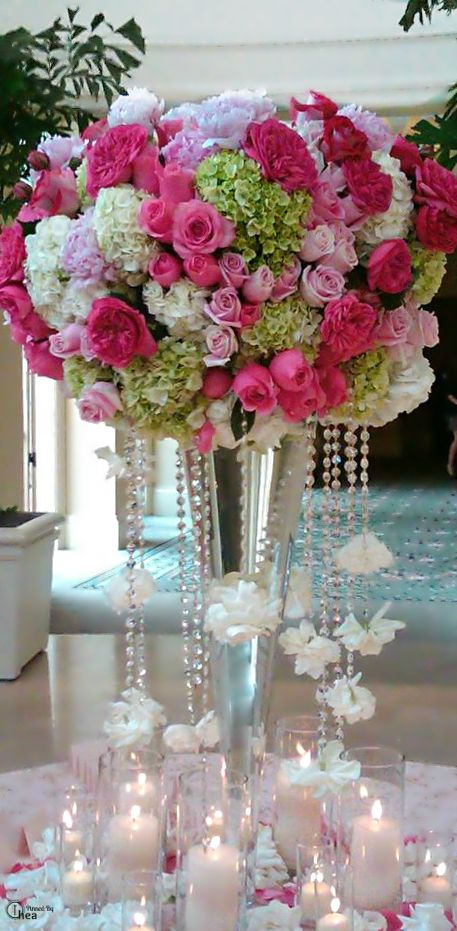 Best quot over the top wedding reception flowers images