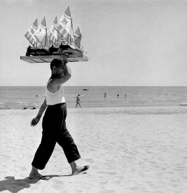 Lido di Venezia, Mario De Biasi, 1950.