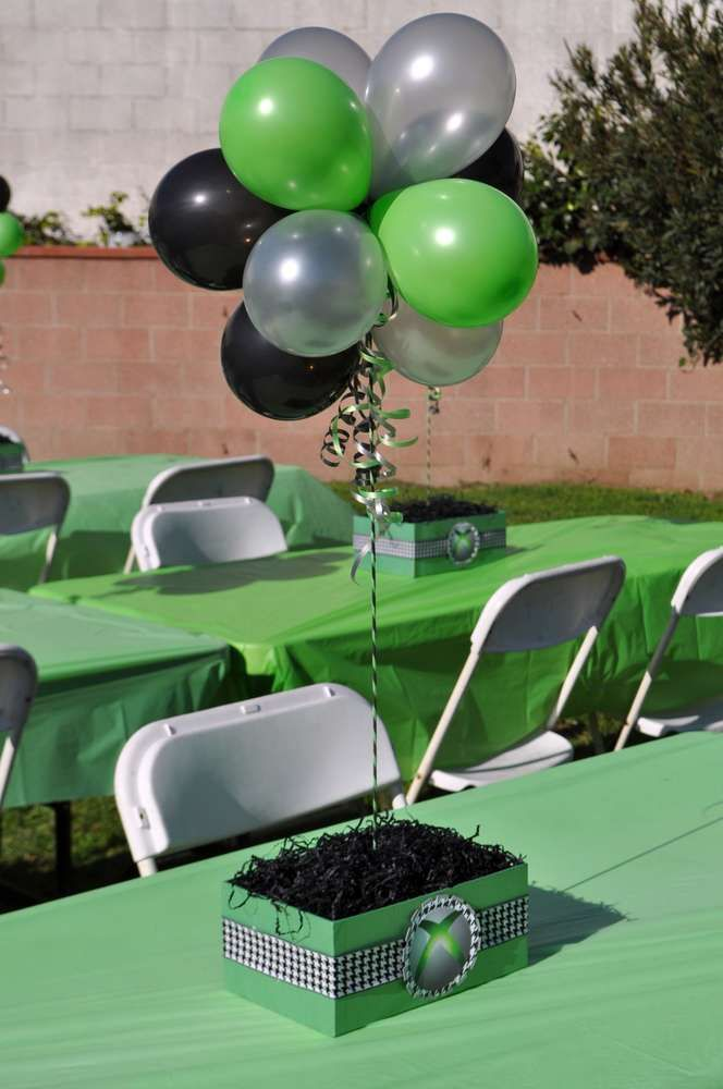 XBox Theme Birthday Party Ideas | Photo 10 of 11 | Catch My Party
