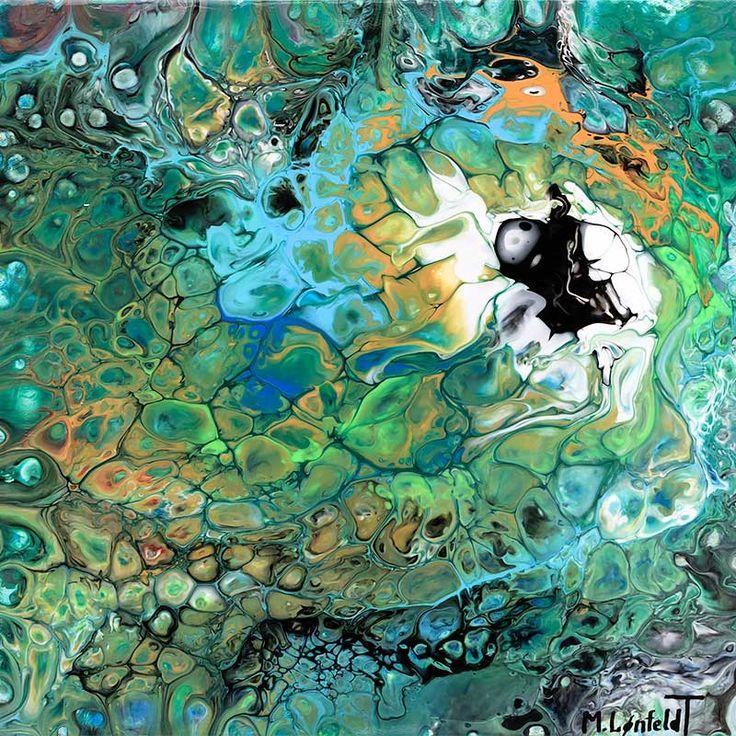 NEW PAINTING  Elemental I  40x40 cm  My website: https://artbylonfeldt.dk/  #art #arts #paintings #painting #fineart #artbylonfeldt