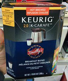 Choosing between the different Keurig single cup brewers
