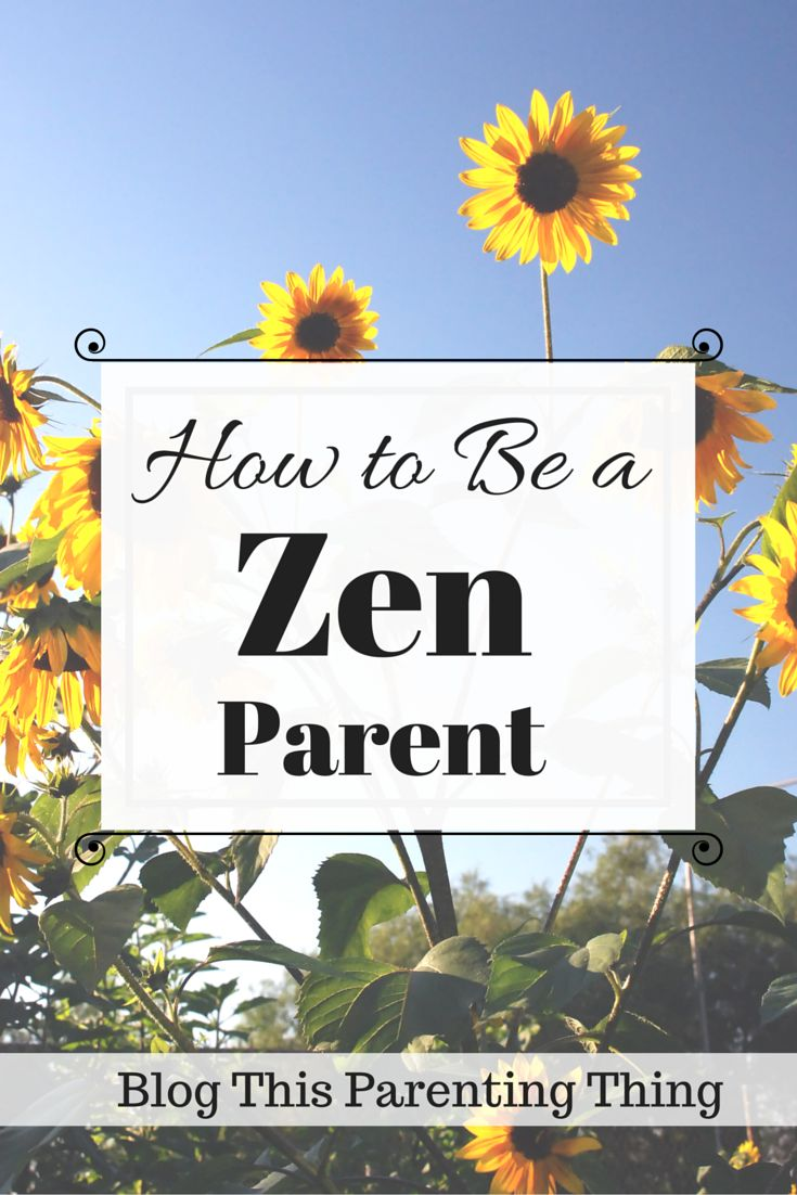 Zen Parenting: Let's see miracles and enjoy every season of life, Blog This Parenting Thing. Click and read now or pin to save for later! <3