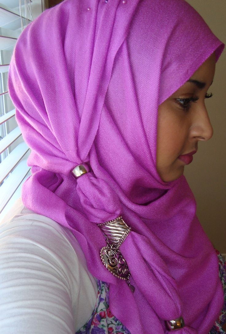 Summer Hijab Style with Finger Rings- Easy to Follow