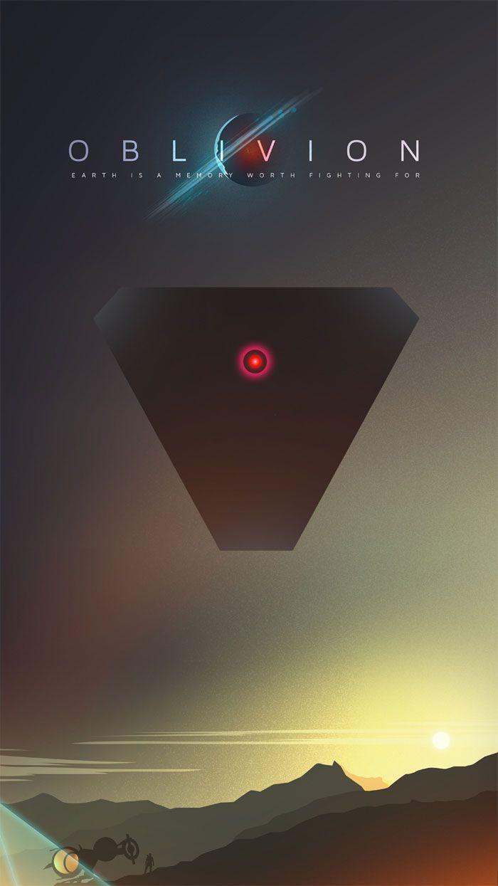 Alternative movie poster for Oblivion by Ciaran Monaghan