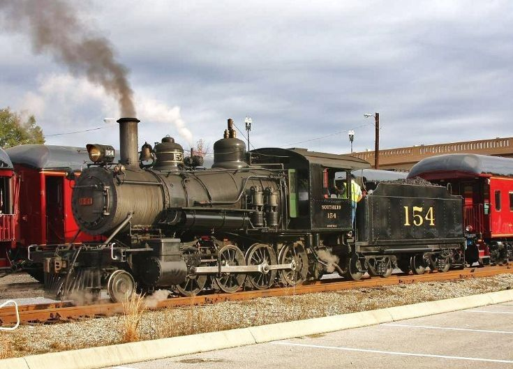 The Smoky Mountain Railroad Of Tennessee | Locomotives
