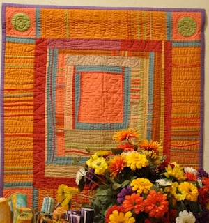 Freddy Moran and Gwen Marston. Love their quilts & books.