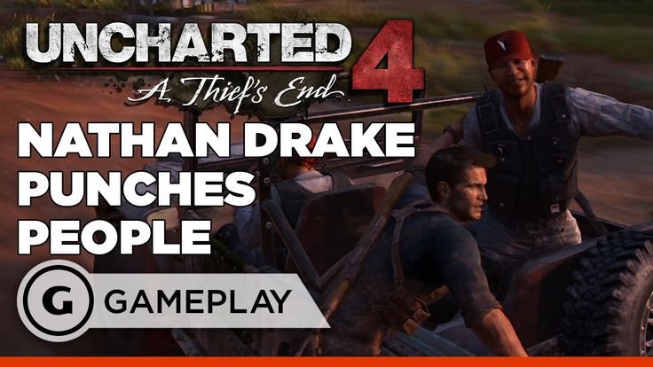 Punches and Choke Outs Nathan Drake Style! - Uncharted 4: A Thief's End