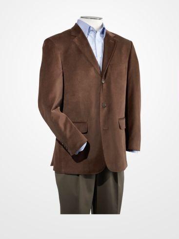 Men S Sport Coats Amp Vests Linea Uomo Brown Velvet Sport