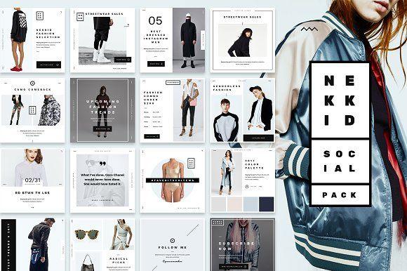 Nekkid - Social Media Booster Pack  @creativework247