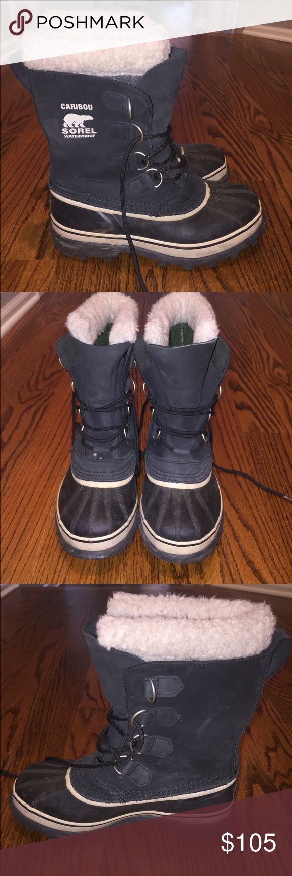 Sorel winter boots These boots are sooo warm and so cozy!! Perfect winter shoe and barely ever worn! GREAT DEAL Sorel Shoes Winter & Rain Boots