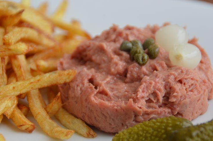 Américain préparé (plat belge)