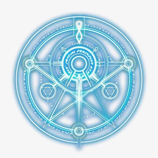 Magic Magiccircle Specially Good Effect Light Effect Pattern Magic Blue Psyminds17 Magic Symbols Magic Circle Sigil Magic