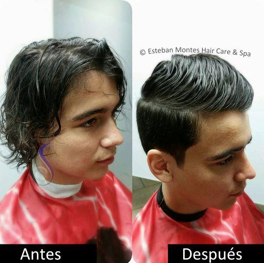 #CambiodeImagen #Haircut #Recorte #SleekBack #Mancut #Transformation