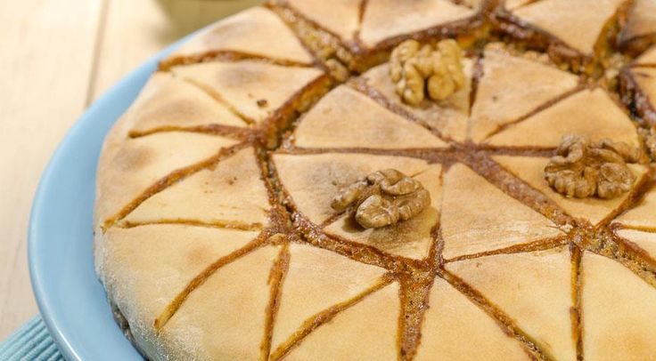Upečte si fantastický grécky orechový koláč, ktorého príprava je jednoduchá a obsahuje samé zdravé suroviny – Báječne nápady