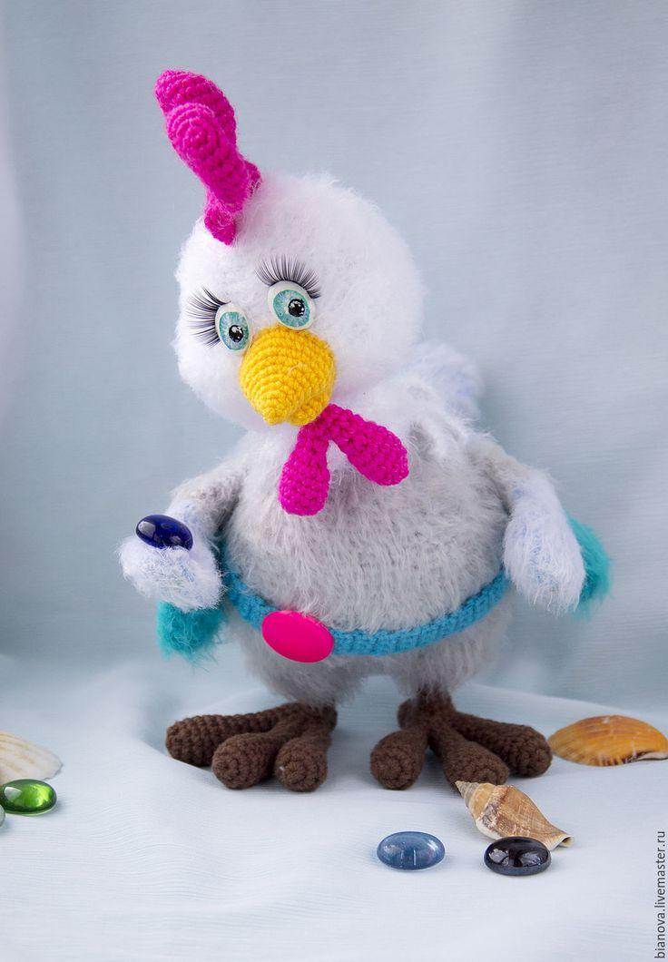 Купить Петушок Кирюша Пушистый - комбинированный, петушок, петух, символ нового года, символ года