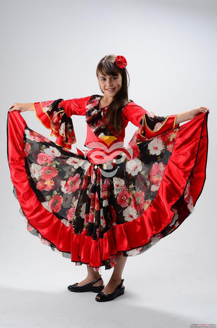 Традиционный костюм цыгански своими руками. Фотографии и материалы костюмов.. Фото №2