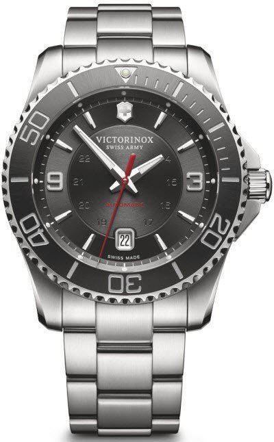 Victorinox Swiss Army Watch Maverick Bracelet #2015-2016-sale #add-content #bezel-unidirectional #black-friday-special #bracelet-strap-steel #brand-victorinox-swiss-army #case-material-steel #case-width-43mm #classic #date-yes #delivery-timescale-1-2-weeks #dial-colour-black #gender-mens #movement-automatic #new-product-yes #official-stockist-for-victorinox-swiss-army-watches #packaging-victorinox-swiss-army-watch-packaging #sale-item-yes #style-dress #subcat-maverick…