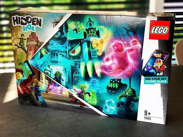plus grosse boite lego hidden side