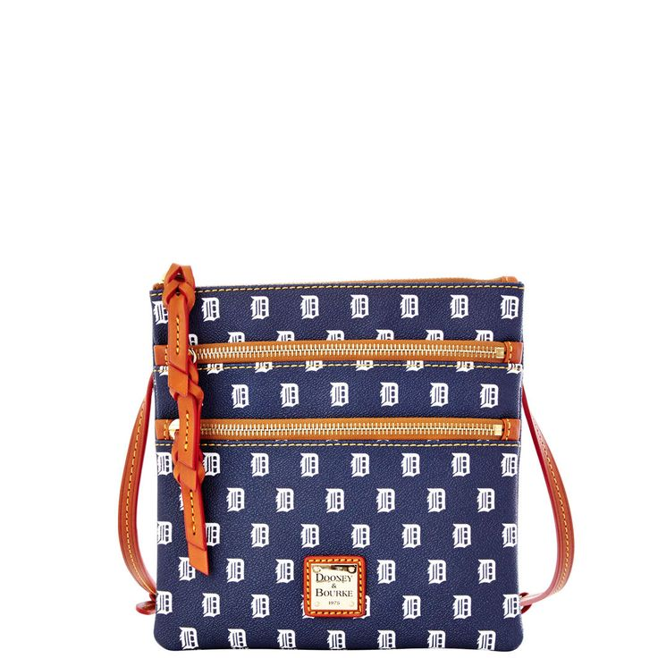 Perfect for opening day! MLB Tigers Triple Zip Crossbody Style# B98TGNV $128.00