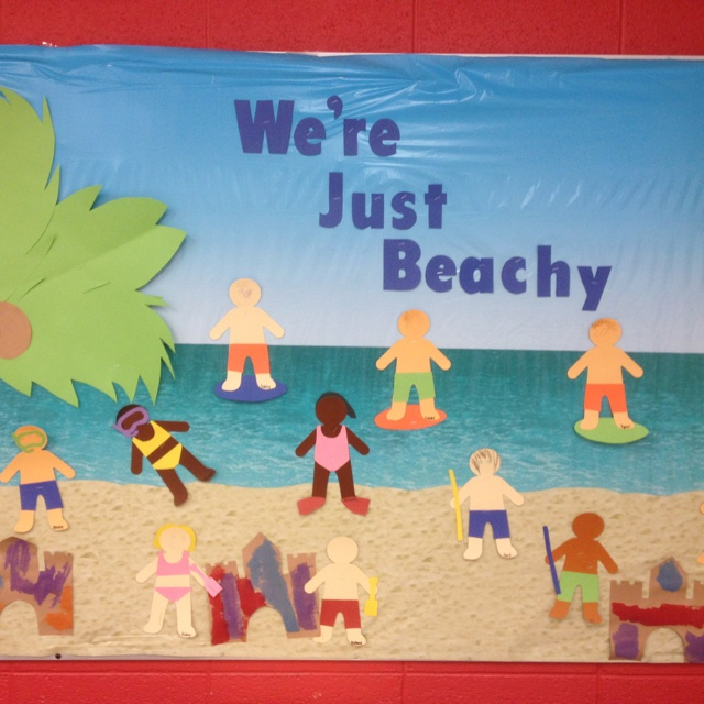 Summer Classroom Decorations : Summer bulletin boards and on