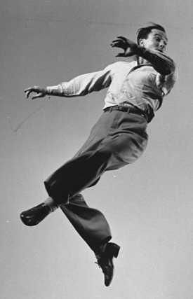 Can you dance like you are pushing the wind?...Mr. Gene Kelly