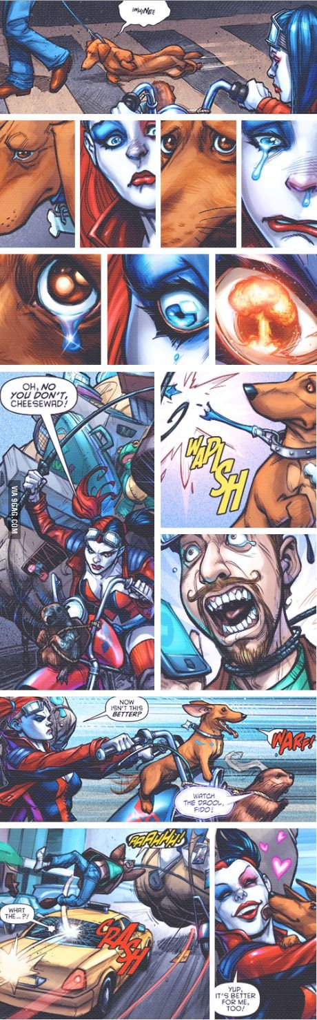 This is why I love Harley Quinn