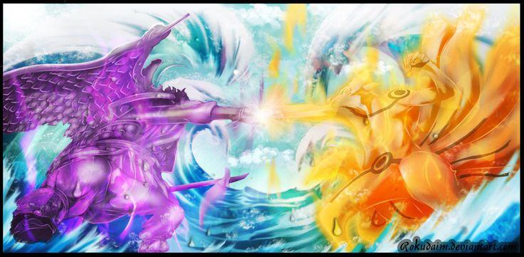 Naruto 695 Clash Of Titan by rokudaim.deviantart.com on @DeviantArt