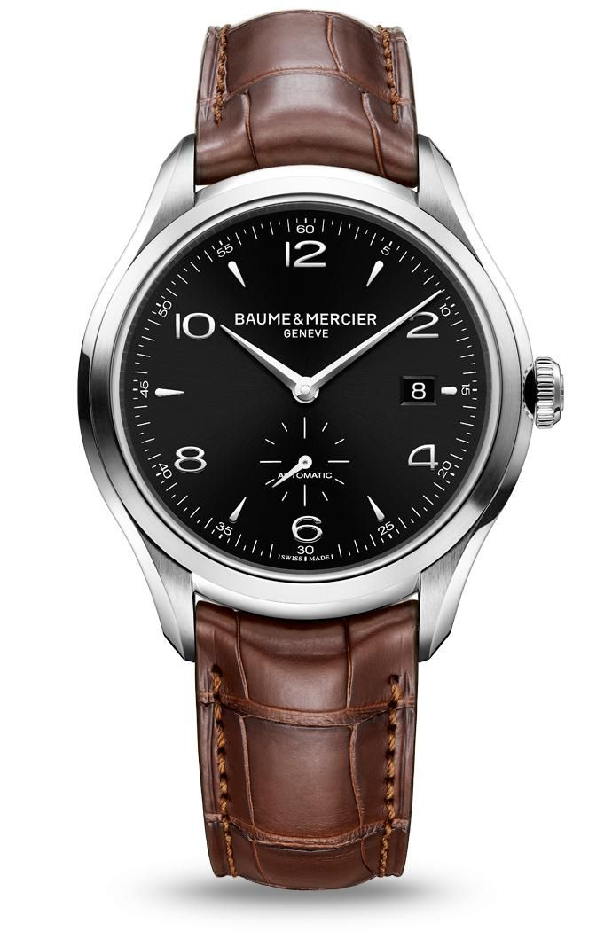 Discover the Clifton 10053 automatic watch for men, designed by Baume et Mercier, Swiss Watch Maker.