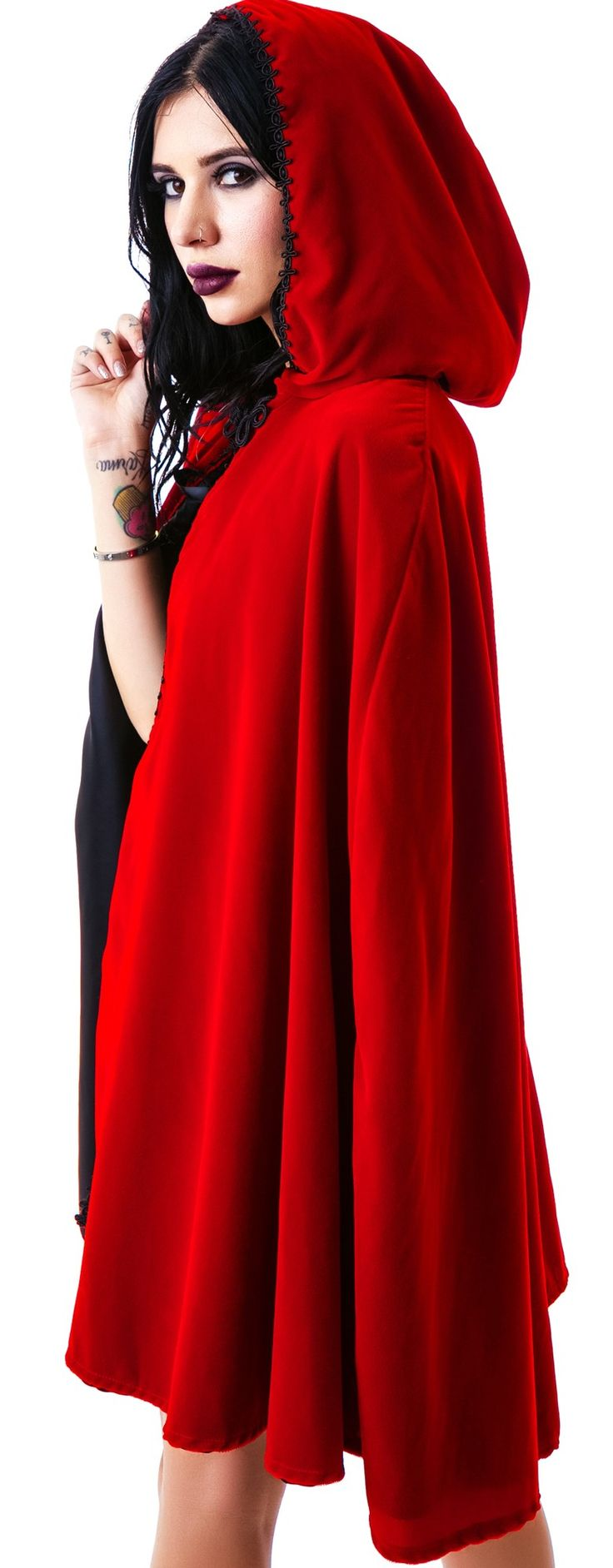 Hooded cape google search clothing shapes designs for Cape designs