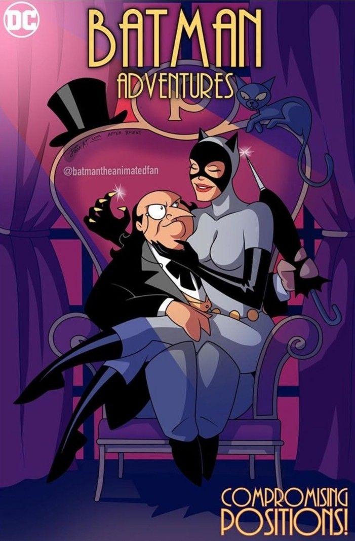 Batman Adventures Catwoman, Comics, Batman