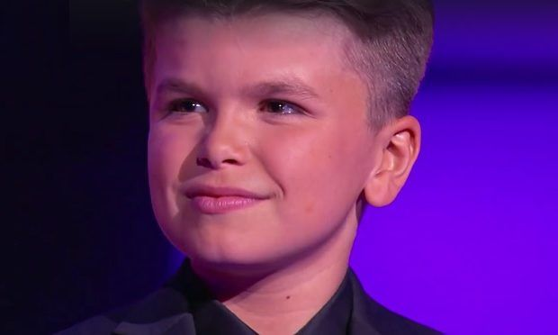 "Compared To George Michael Reuben Little Big Shots. 'Little Big Shots' Singer Reuben, 12, . but the showstopper is a 12-year-old singer from Wales named Reuben de Maid. On Little Big Shots Reuben sings the torch song ""And I Am Telling You I'm Not Going"" from the Broadway hit Dreamgirls. but the showstopper is a 12-year-old singer from Wales named Reuben de Maid. On Little Big Shots Reuben sings the torch song ""And I Am Telling You I'm Not Going"" from the Broadway hit Dreamgirls."