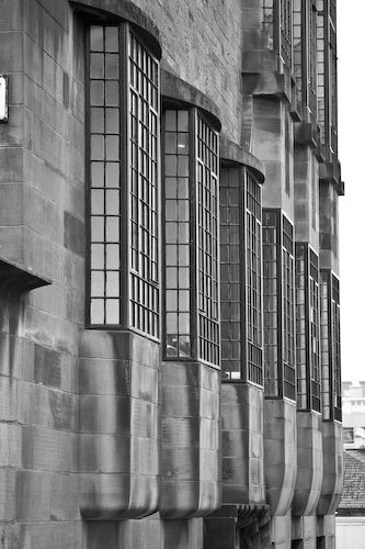 Charles Rennie Macintosh's Glasgow School of Art.