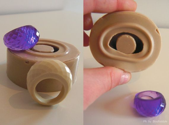 Silicone Mold for  Multifaceted Ring by OHMYMOLD on Etsy, €12.15