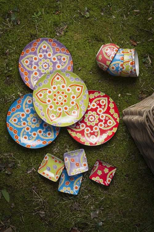 Handpainted Ceramic Plates