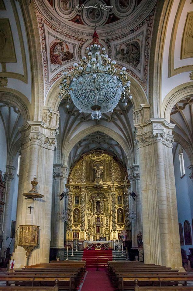 Interior De La Catedral De Baeza Jaen España Catedral España