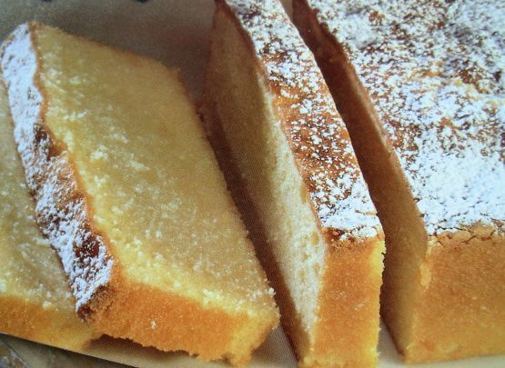 Traditional Swedish Almond Cake Slices
