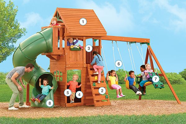 Berkley - Products | Big Backyard Play Set