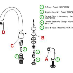 cool Epic Delta Kitchen Faucets Repair 14 On Home Remodel Ideas with Delta Kitchen Faucets Repair