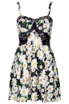 Photo Print Daisy Tunic - Dresses - Clothing