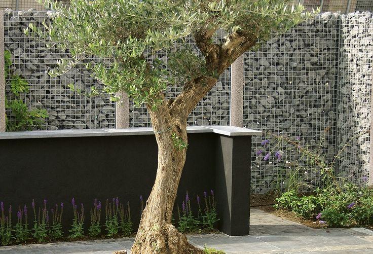 Privacy in de tuin, maatwerk steenschutting mogelijk