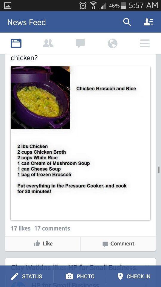 Tupperware Pressure cooker recipes
