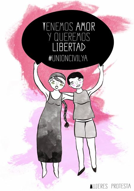Unioncivil for same sex couples mujeres protesta el insomnio de allegra